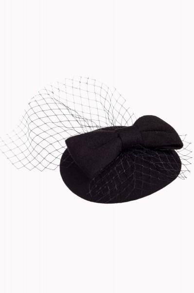 Banned Hütchen Candice schwarz