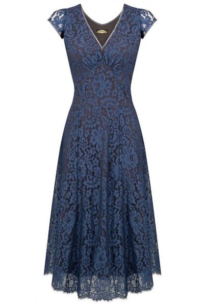 Nancy Mac Kleid Kristen Starlight Blue Lace