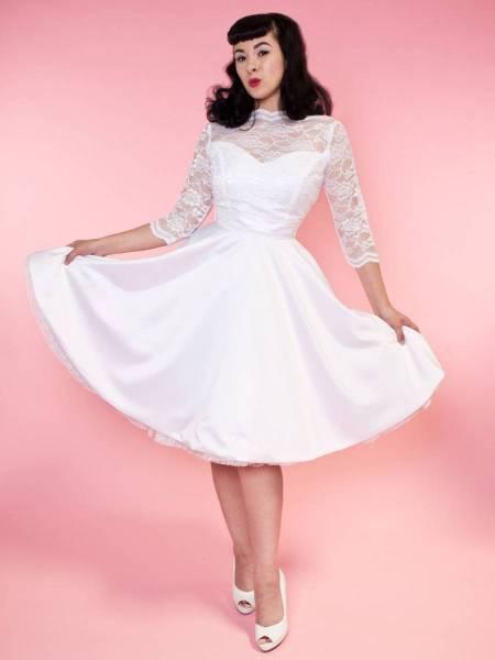 Heart of Haute Brautkleid Collette White Lace