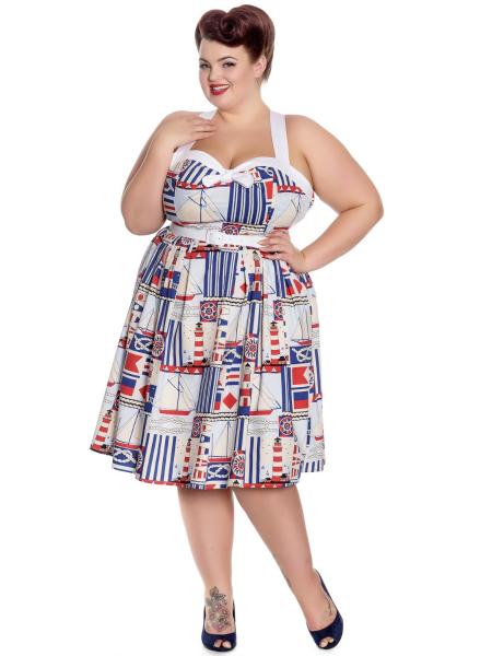 Hell Bunny Kleid Lighthouse Dress