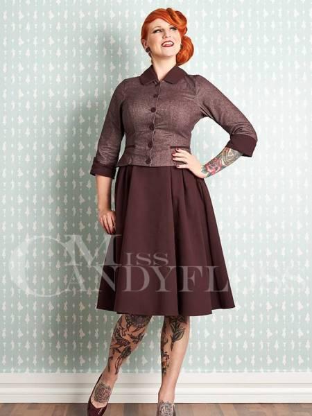 Miss Candyfloss Kleid Liolia-Bo Raisin