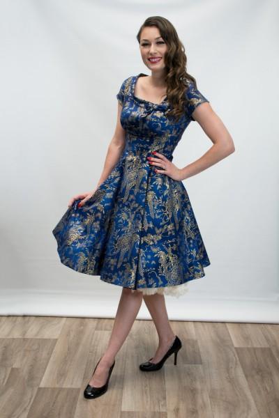 Heart of Haute Kleid Beverly Blue Gilded Wisteria