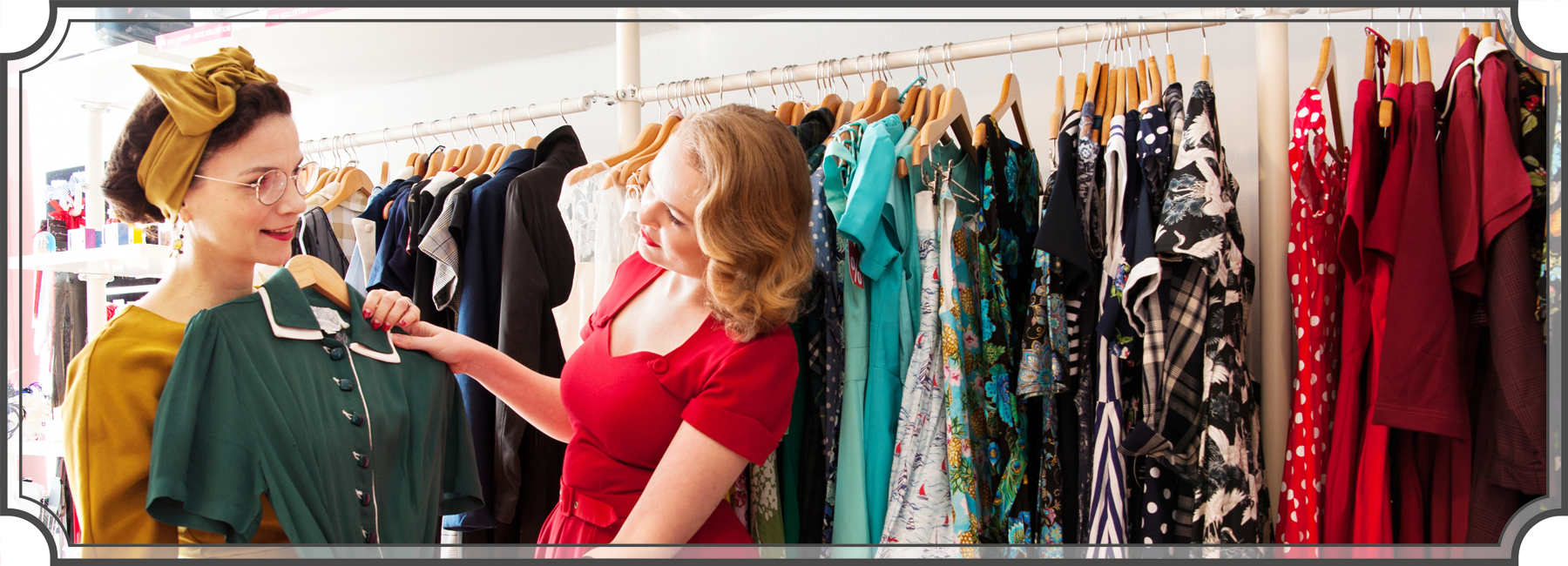 Kleider im Vintage-Stil