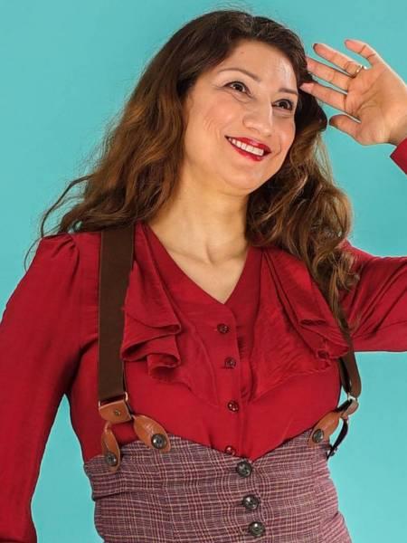 Emmy Hosenträger The Sassy Suspenders Coffee Cognac