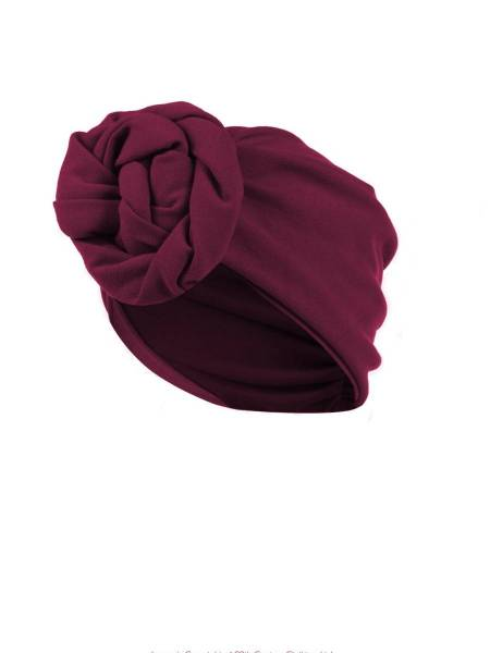 House of Foxy Turban Berry weinrot