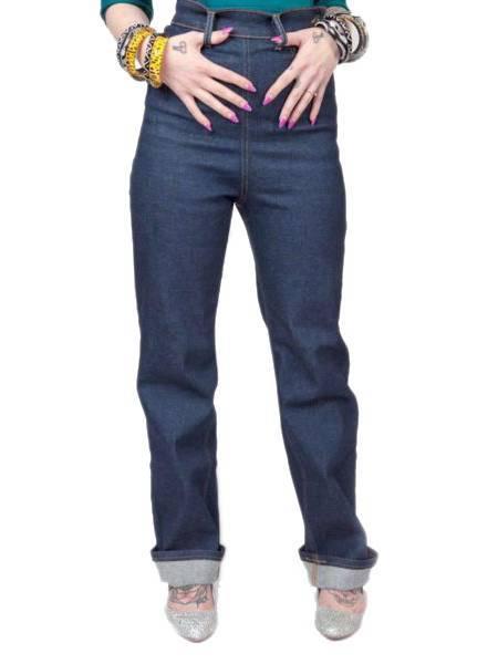Lady K Loves Le Wild Jeans Indigo
