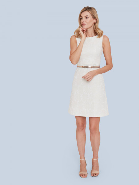 Mademoiselle Yeye Kleid What A Day Dress White Flowers