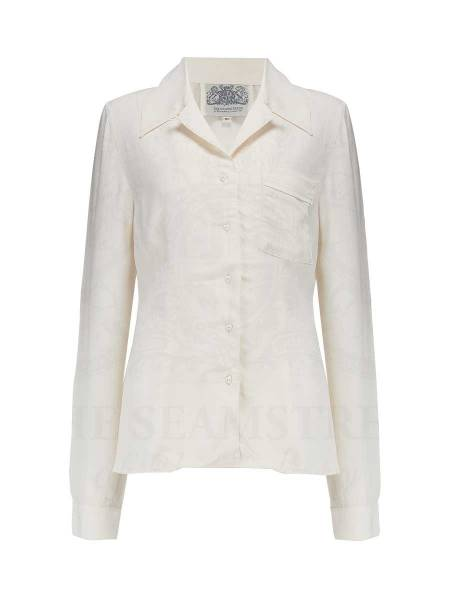 The Seamstress of Bloomsbury Bluse Jacqui Blouse Cream