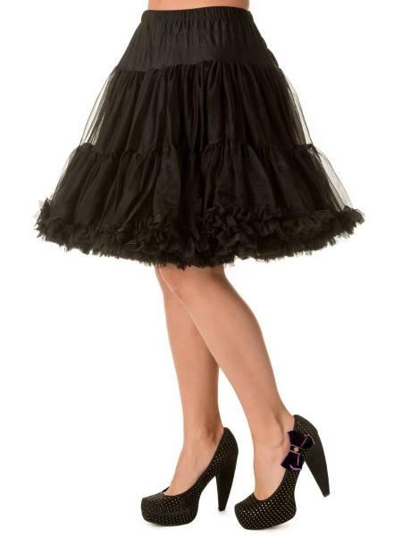 Banned Petticoat 50,8 cm schwarz 20 inch