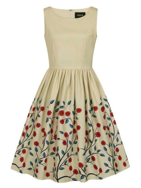 Collectif Kleid Candice Danube Floral Swing Dress