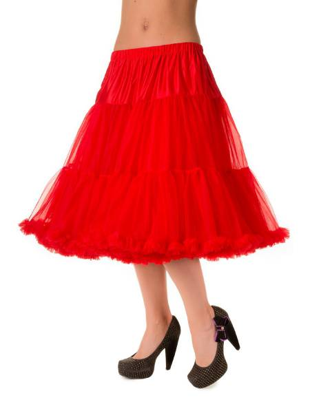 Banned Lifeforms Petticoat 66 cm rot 26 inch