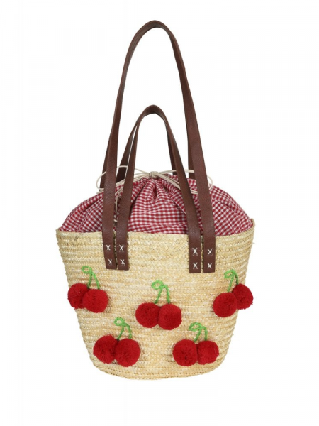 Collectif Tasche Gigi Cherry Beach Bag
