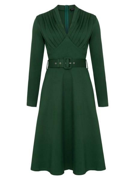 Katakomb Kleid Claudia grün