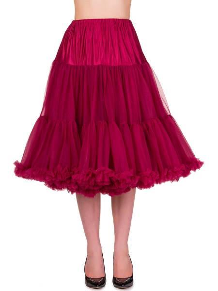 Banned Lifeforms Petticoat 66 cm bordeaux 26 inch