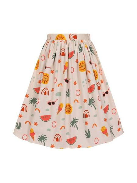 Lady V London Rock Wish You Were Here Skirt