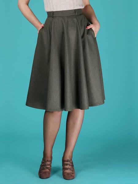 Emmy Rock The sweetest swing skirt grün