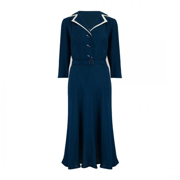 Seamstress of Bloomsbury Kleid Lisa Mae dunkelblau