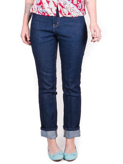 Lady K Loves Classic Jeans Indigo