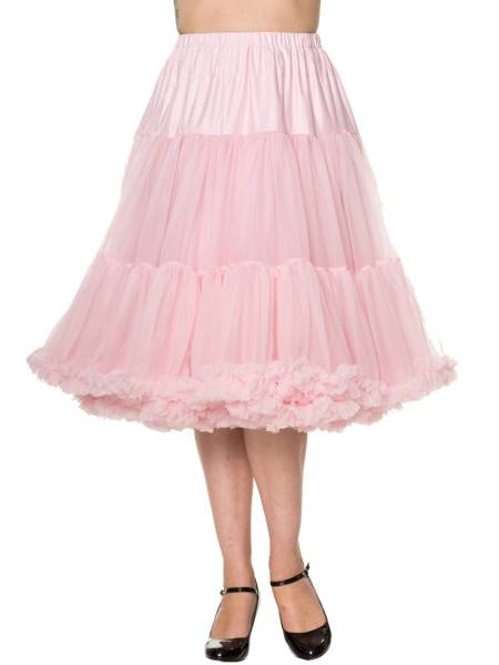 Banned Lifeforms Petticoat 66 cm Light Pink rosa
