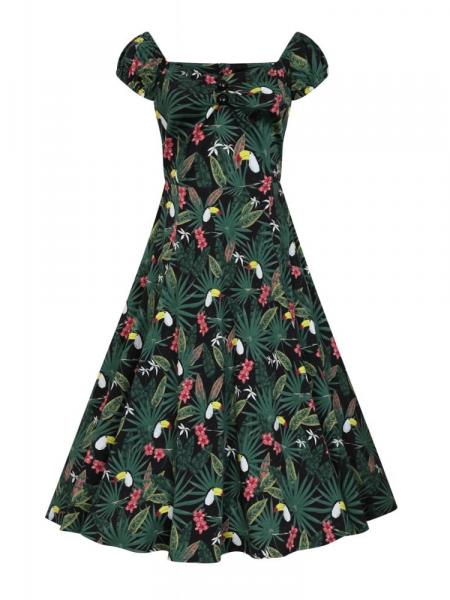 Collectif Kleid Dolores Tropicalia Doll Dress