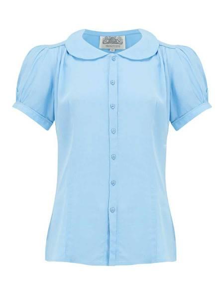 Seamstress of Bloomsbury Bluse Jive Blouse Powder Blue