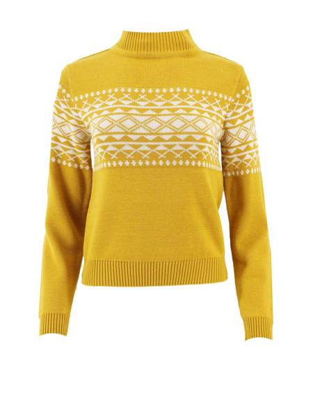 Circus Pullover Yellow Egrit gelb