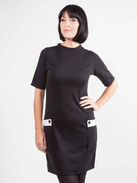 Love Her Madly Sixties Kleid Nina s/w