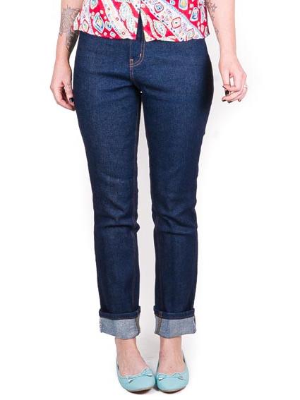 Lady K Loves Classic Jeans Indigo