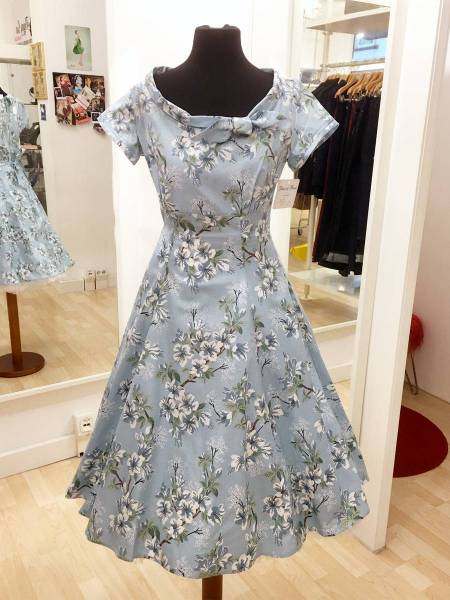 Heart of Haute Kleid Beverly Janelle Aqua Blue