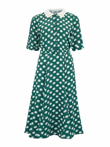Seamstress of Bloomsbury Kleid Lucy Green Moon Spot