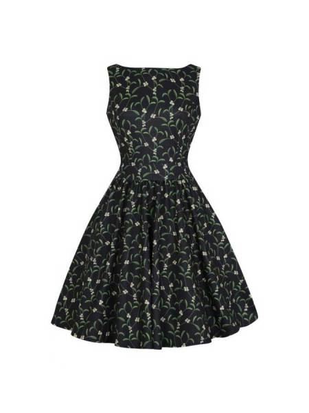 Lady V London Kleid Tea Dress Under The Mistletoe