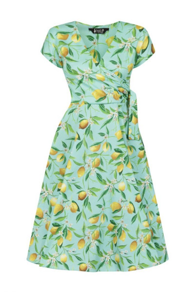 Lady V London Kleid Bella Dress Lemon