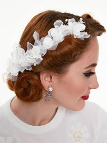 Haarschmuck Betsy Bridal Pearl Hair Flower
