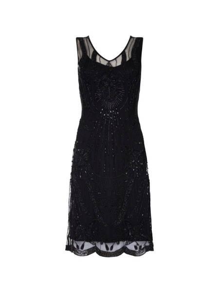 Gatsbylady 20er Jahre Kleid Diana schwarz