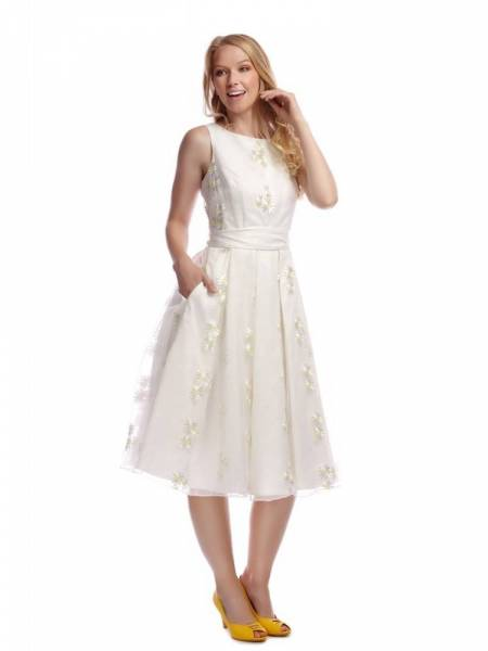 Collectif Kleid Vanessa Daisy Swing Dress