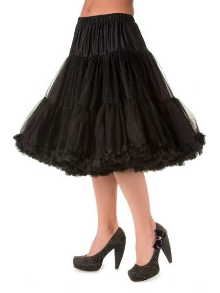 Banned Lifeforms Petticoat 66 cm schwarz 26 inch