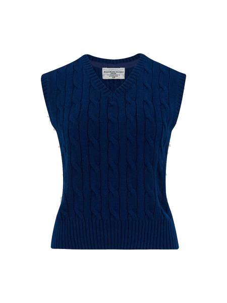 Seamstress of Bloomsbury Pullunder dunkelblau