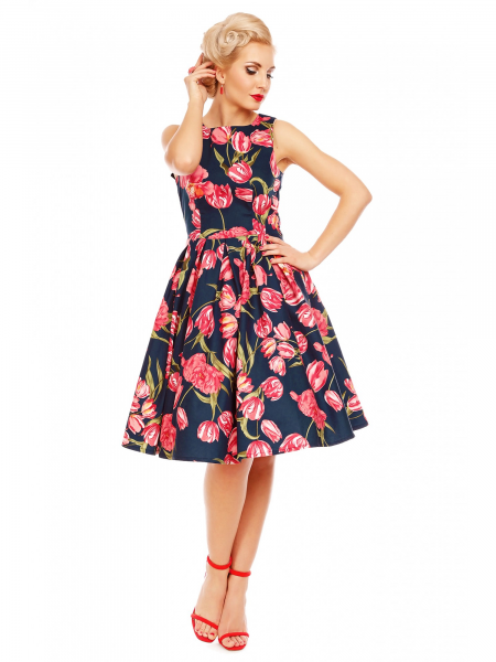 Dolly and Dotty Kleid Annie Navy Tulip