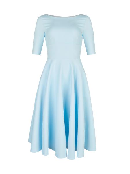 The Pretty Dress Company Kleid Hepburn Swing Dress Pale Blue