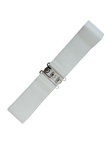 Banned Gürtel Vintage Stretch Belt weiß