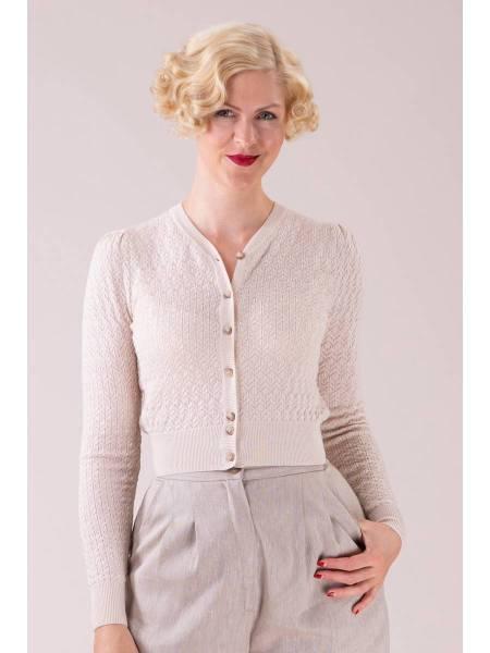 Emmy Delightful Daytime Cardigan Linen beige