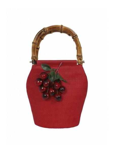 Collectif Tasche Olga Cherry Handbag