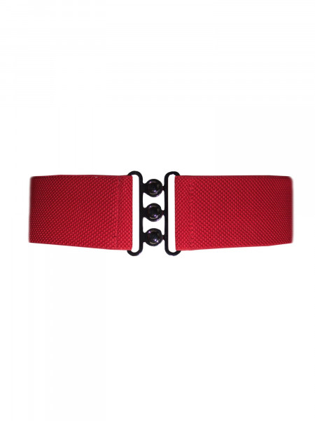 Collectif Stretchgürtel Nessa Belt rot