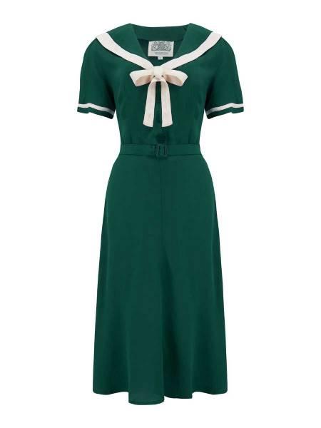 Seamstress of Bloomsbury Kleid Patti Dress dunkelgrün