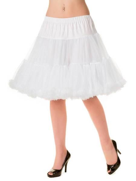 Banned Petticoat 50,8 cm weiß 20 inch