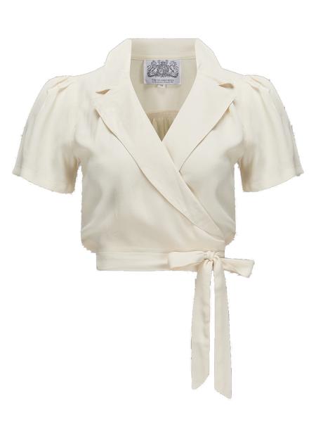 Seamstress of Bloomsbury Bluse Greta Blouse Cream