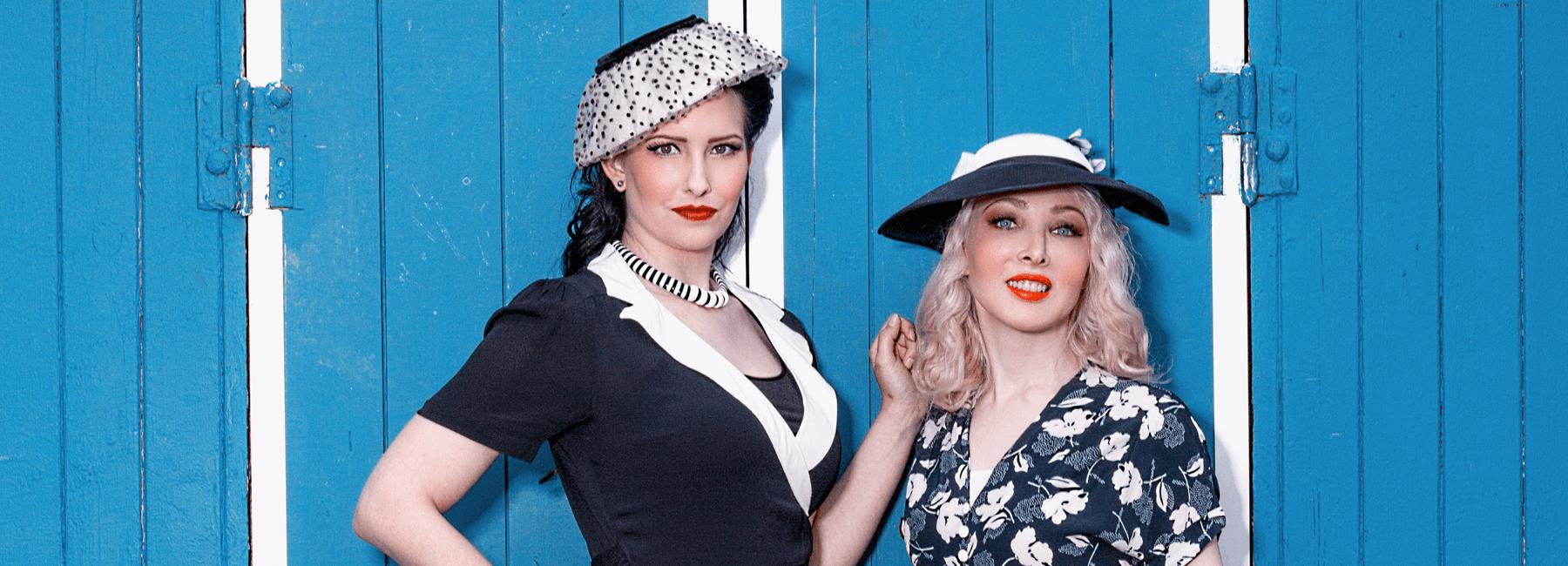 Praktisch und trotzdem feminin: Der Zweite Weltkrieg veränderte das Leben der Menschen drastisch – selbstverständlich auch in der Mode. Durch die äußerste Verknappung von Rohstoffen mussten Modeschöpfer umdenken.